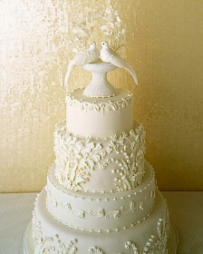 Single Dove Cake Topper