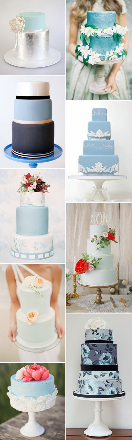 Blue-Wedding-Cakes