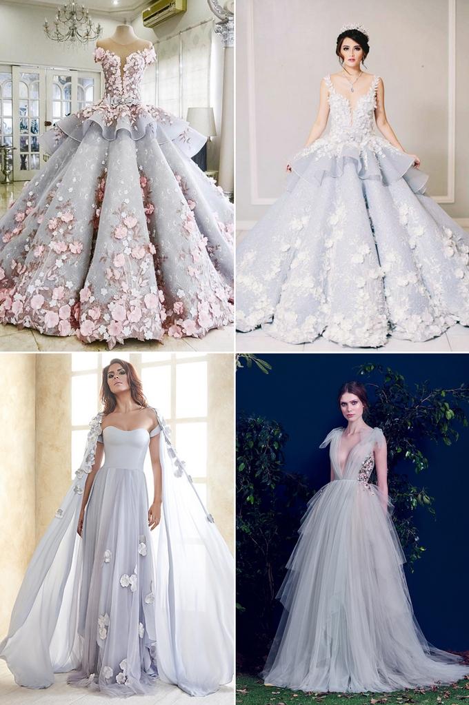 2325f45159 niebieska suknia ślubna