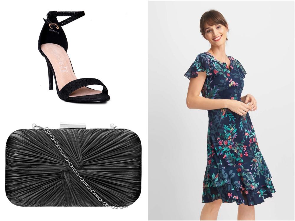 c0fab85522 Piękna sukienka z rękawkami-motylkami to romantyczna propozycja na  wakacyjne wesela. Luźny