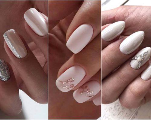 Piękne paznokcie na ślub