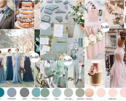 Palety kolorów na jesienne śluby