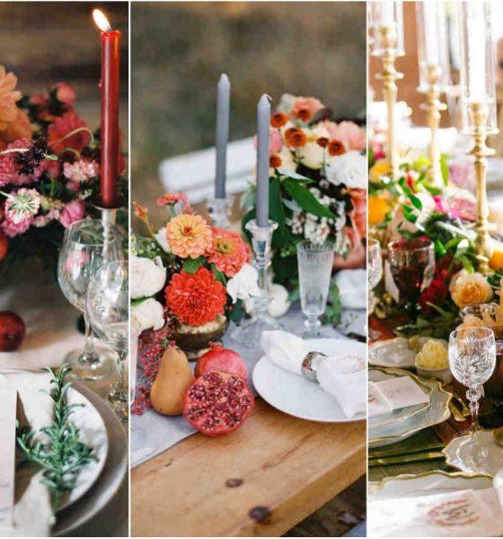 Owoce i warzywa w aranżacjach stołowych