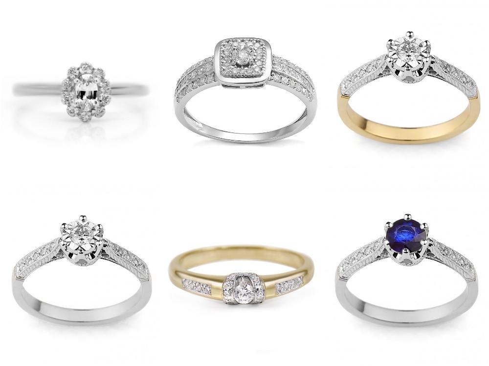 vintage pierścionek zaręczynowy Diamor
