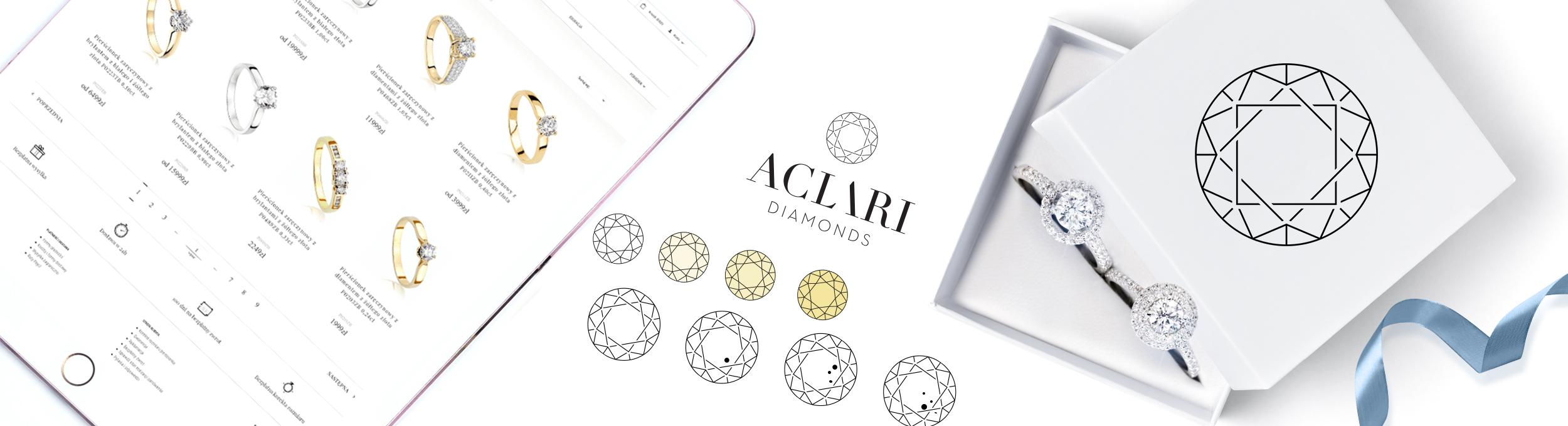 Wybór pierścionków zaręczynowych Aclari